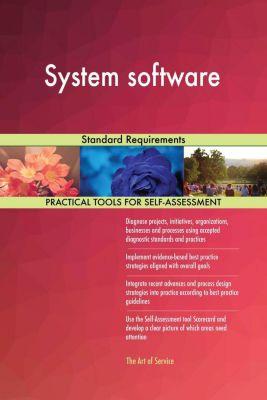 5STARCooks: System software Standard Requirements, Gerardus Blokdyk
