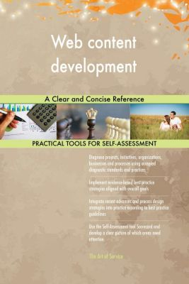 5STARCooks: Web content development A Clear and Concise Reference, Gerardus Blokdyk
