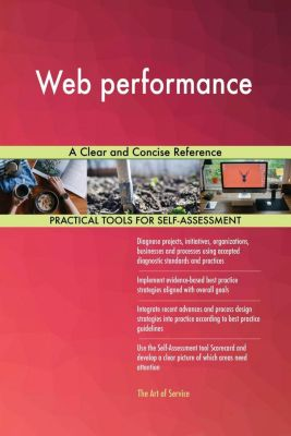 5STARCooks: Web performance A Clear and Concise Reference, Gerardus Blokdyk
