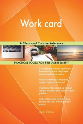 5STARCooks: Work card A Clear and Concise Reference, Gerardus Blokdyk