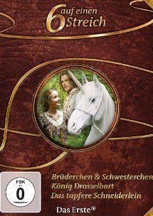 6 auf einen Streich Vol. 1, Jacob Grimm, Wilhelm Grimm, Gabriele Kreis, Anja Kömmerling, Thomas Brinx, Dieter Bongartz, Leonie Bongartz