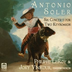 6 Concerti For 2 Keyboards, Philippe Leroy, Jory Vinikour
