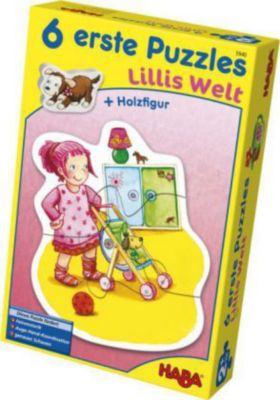 6 erste Puzzles - Lillis Welt (Kinderpuzzle)