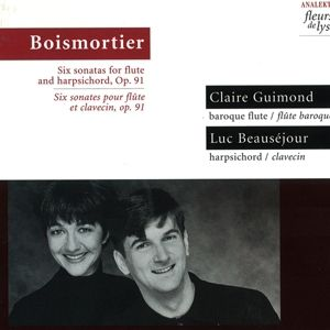6 Sonaten F.Flöte U.Cembalo Op.9, Claire Guimond, Luc Beausejour