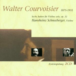 6 Suiten F.Violine Solo,Op.31, Hansheinz Schneeberger
