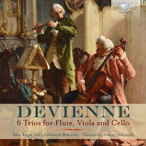6 Trios For Flute,Viola And Cello, Sara Ligas, Salvatore Rea, Vladimiro Atzeni