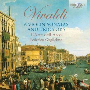 6 Violin Sonatas And Trios Op.5, Antonio Vivaldi