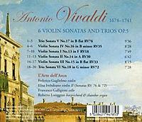 6 Violin Sonatas And Trios Op.5 - Produktdetailbild 1