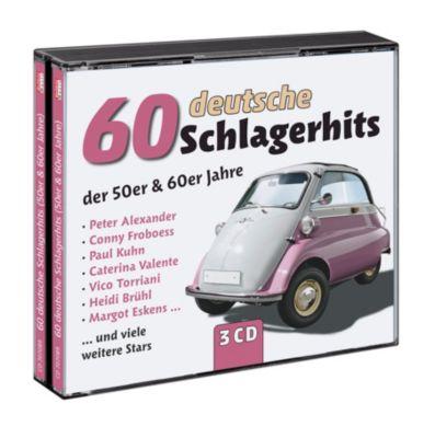 60 deutsche Schlagerhits der 50er & 60er Jahre, Various
