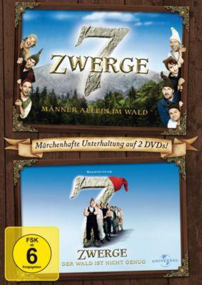 7 Zwerge - Männer allein im Wald / 7 Zwerge - Der Wald ist nicht genug, Cosma Shiva Hagen,Heinz Hoenig Otto Waalkes