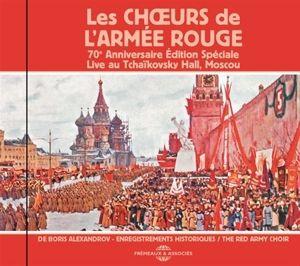 70E Anniversaire Édition Spéciale, Live Au Tchaikovsky Hall, Moscou, Les Choeurs De L'Armée Rouge De Boris Alexandrov