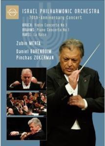 70th Anniversary Concert, Daniel Barenboim, Zubin Mehta, Ipo