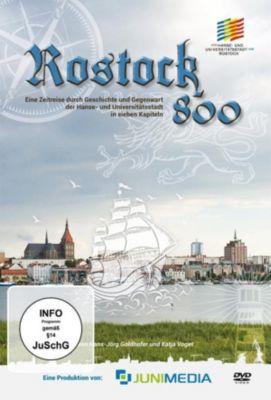 800 Jahre Rostock - Eine Zeitreise durch Geschichte und Gegenwart der Hanse- und Universitätsstadt, 2 DVD