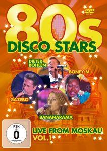 80s Disco Stars Live From Moskau Vol. 1, Diverse Interpreten