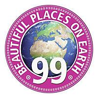 99 Beautiful Places on Earth. Puzzle 1000 Teile - Produktdetailbild 2