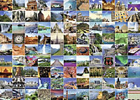 99 Beautiful Places on Earth. Puzzle 1000 Teile - Produktdetailbild 1