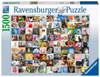 Puzzle 1.000 Teile Spiel Deutsch 2016 Puzzles & Geduldspiele Schmusekatzen