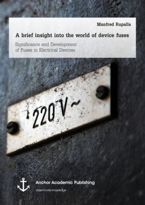 A brief insight into the world of device fuses: Significance and Development of Fuses in Electrical Devices, Manfred Rupalla
