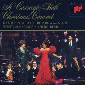 A Carnegie Hall Christmas, Kathleen Battle, Frederica von Stade, Wynto Marsalis
