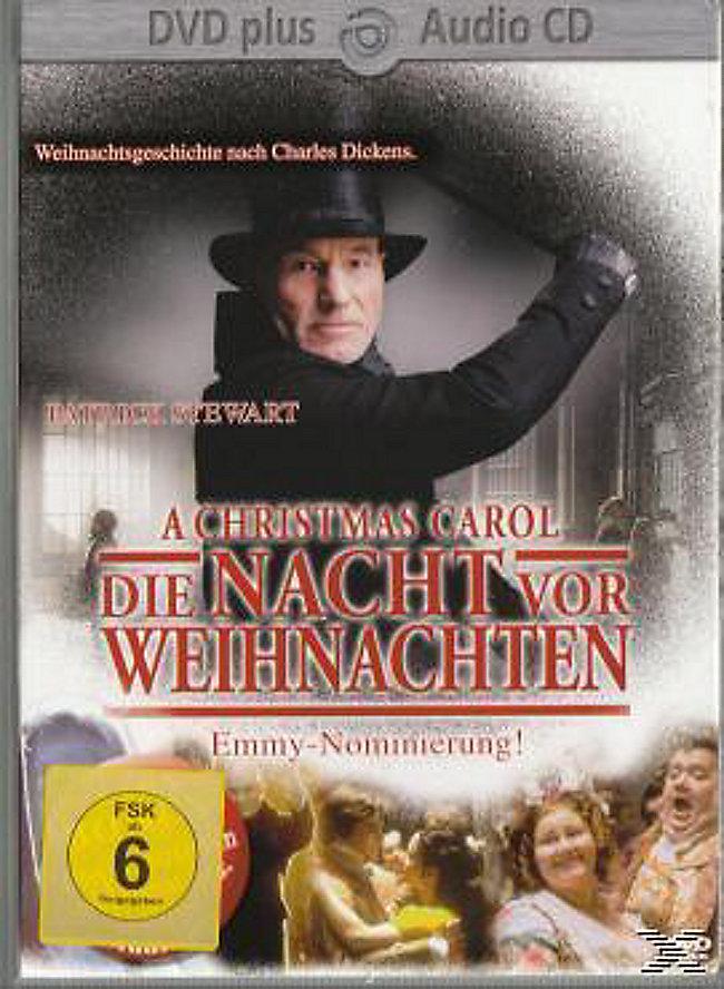A Christmas Carol - Die Nacht vor Weihnachten, DVD plus Audio-CD ...