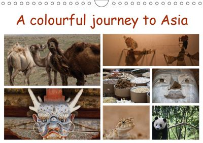 A colourful journey to Asia (Wall Calendar 2019 DIN A4 Landscape), Sven Gruse