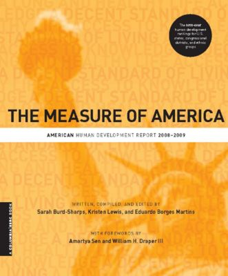 A Columbia / SSRC Book: The Measure of America, Kristen Lewis, Sarah Burd-Sharps, Eduardo Martins