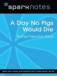 A literary analysis of a day no pigs would die