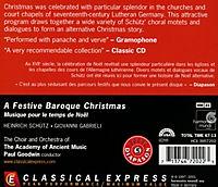 A Festive Baroque Christmas - Produktdetailbild 1