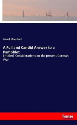 A Full and Candid Answer to a Pamphlet, Israel Mauduit