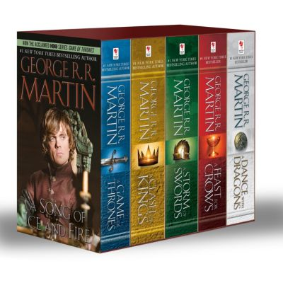 A Game of Thrones 1-5 Boxed Set. TV Tie-In, George R. R. Martin