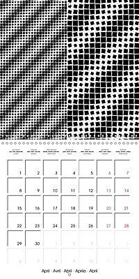A Geometric Rhapsody 2019 (Wall Calendar 2019 300 × 300 mm Square) - Produktdetailbild 4