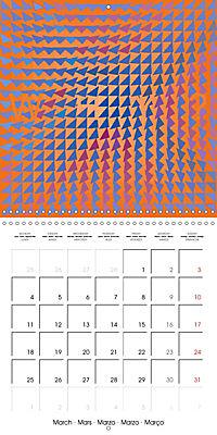 A Geometric Rhapsody 2019 (Wall Calendar 2019 300 × 300 mm Square) - Produktdetailbild 3