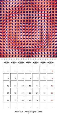 A Geometric Rhapsody 2019 (Wall Calendar 2019 300 × 300 mm Square) - Produktdetailbild 6