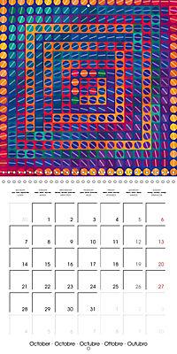A Geometric Rhapsody 2019 (Wall Calendar 2019 300 × 300 mm Square) - Produktdetailbild 10