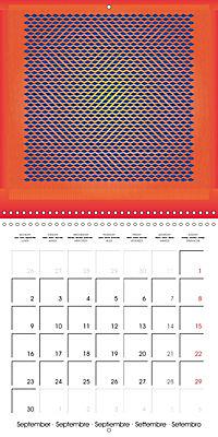A Geometric Rhapsody 2019 (Wall Calendar 2019 300 × 300 mm Square) - Produktdetailbild 9