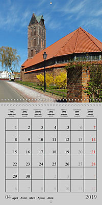 A German Hanseatic city of Wismar (Wall Calendar 2019 300 × 300 mm Square) - Produktdetailbild 4