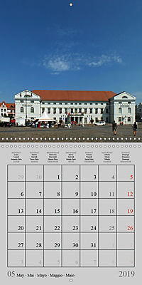 A German Hanseatic city of Wismar (Wall Calendar 2019 300 × 300 mm Square) - Produktdetailbild 5