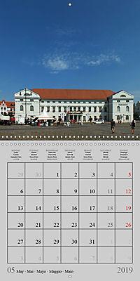A German Hanseatic city of Wismar (Wall Calendar 2019 300 × 300 mm Square) - Produktdetailbild 5