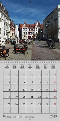 A German Hanseatic city of Wismar (Wall Calendar 2019 300 × 300 mm Square) - Produktdetailbild 3