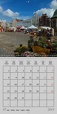 A German Hanseatic city of Wismar (Wall Calendar 2019 300 × 300 mm Square) - Produktdetailbild 7