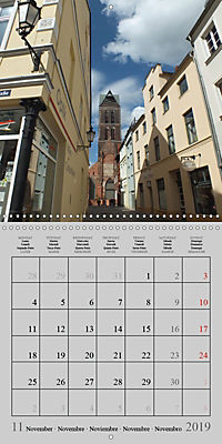 A German Hanseatic city of Wismar (Wall Calendar 2019 300 × 300 mm Square) - Produktdetailbild 11