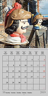A German Hanseatic city of Wismar (Wall Calendar 2019 300 × 300 mm Square) - Produktdetailbild 10