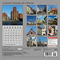 A German Hanseatic city of Wismar (Wall Calendar 2019 300 × 300 mm Square) - Produktdetailbild 13