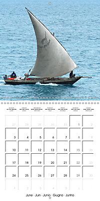 A glimpse of Zanzibar (Wall Calendar 2019 300 × 300 mm Square) - Produktdetailbild 6