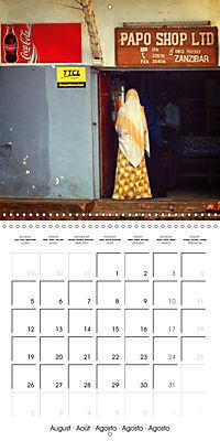 A glimpse of Zanzibar (Wall Calendar 2019 300 × 300 mm Square) - Produktdetailbild 8