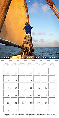 A glimpse of Zanzibar (Wall Calendar 2019 300 × 300 mm Square) - Produktdetailbild 9