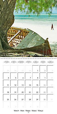 A glimpse of Zanzibar (Wall Calendar 2019 300 × 300 mm Square) - Produktdetailbild 3