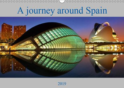 A journey around Spain (Wall Calendar 2019 DIN A3 Landscape), Atlantismedia, Atlantismedia 2017