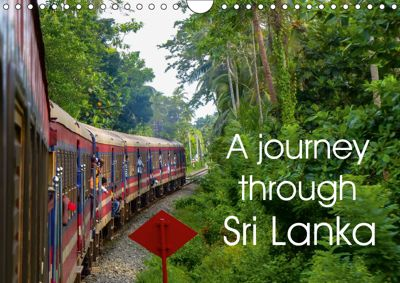 A journey through Sri Lanka (Wall Calendar 2019 DIN A4 Landscape), Sebastian Heinrich