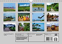 A journey through Sri Lanka (Wall Calendar 2019 DIN A4 Landscape) - Produktdetailbild 13